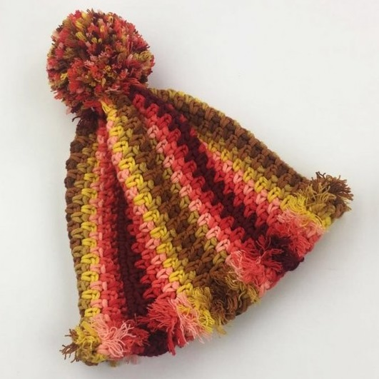 Autumn Red Mütze Durable Cosy