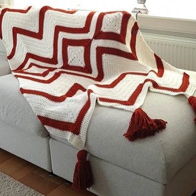 Aztec Afghan Durable Cosy