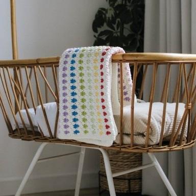 Baby Blanket Durable Cosy Fine