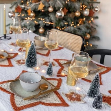 A Starry Christmas Table Durable Glam