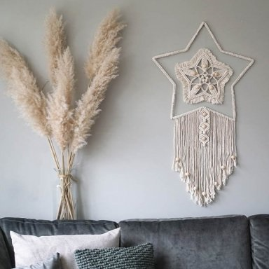 Wandhanger Wall Full of Stars Durable Rope