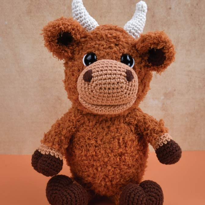 Oswald the Ox Durable Teddy